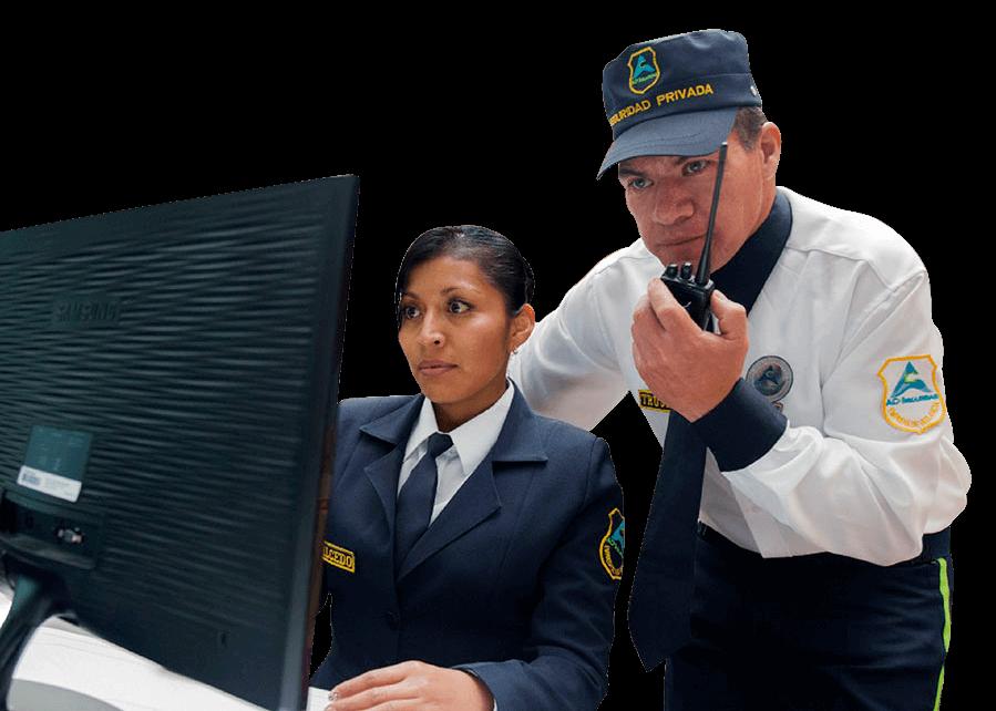 seguridad electronica sistema integrado de monitoreo