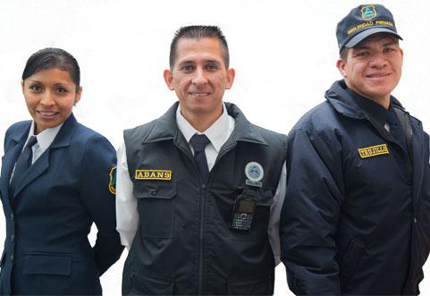 servicio de guardias de seguridad